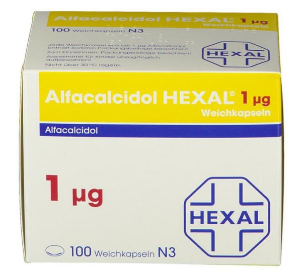Альфакальцидол 1 µg цена