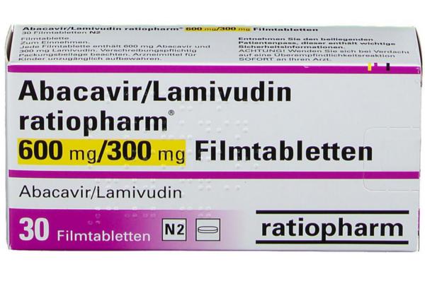 Абакавир / Ламивудин 600 мг 1