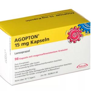 Агоптон 15 мг / Лансопразол купить