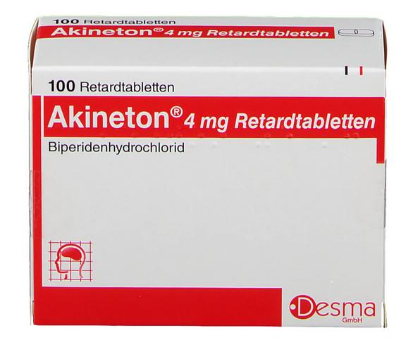 Акинетон 4 мг купить