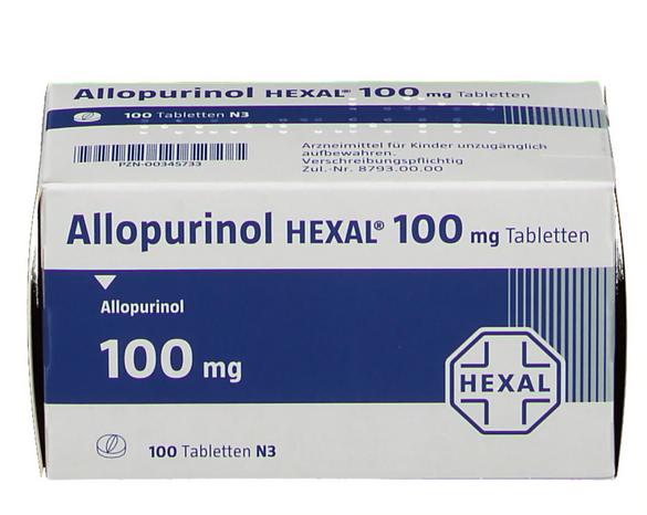 Аллопуринол 100 купить