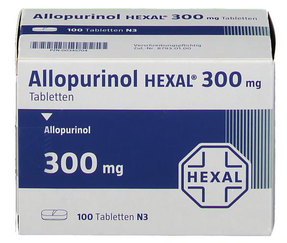 Аллопуринол 300 цена
