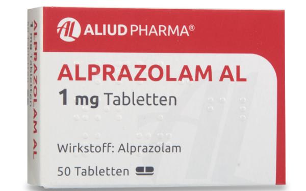 Алпразолам 1 мг цена