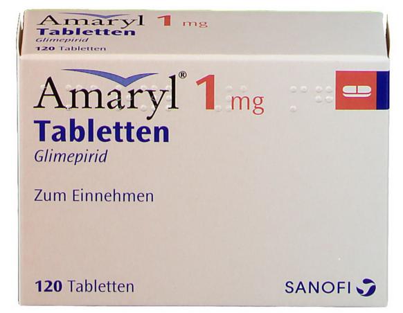 Амарил 1 мг