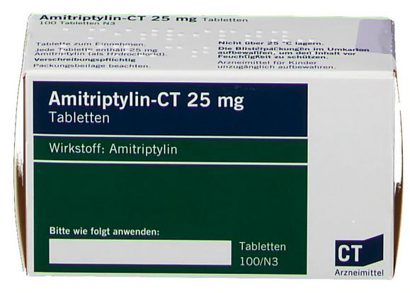 Амитриптилин 25 мг купить