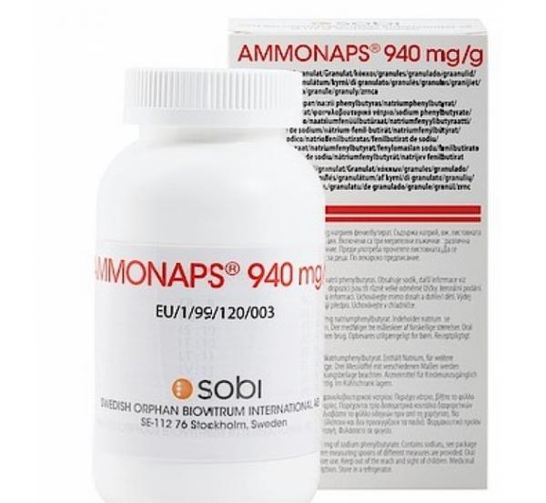 Аммонапс 940 мг гранулы