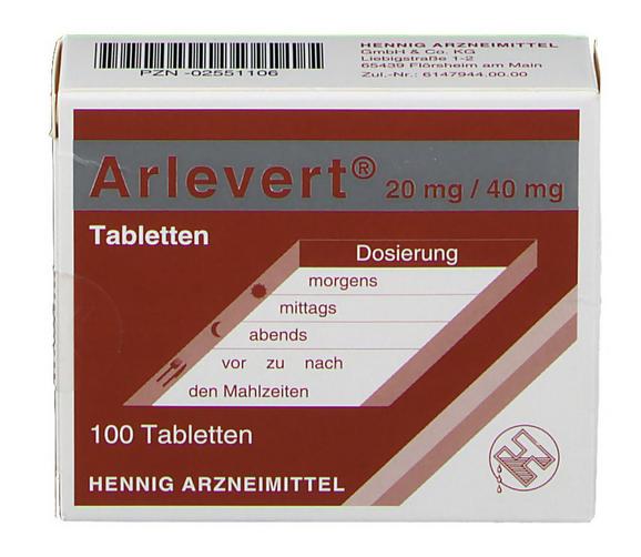 Арлеверт цена
