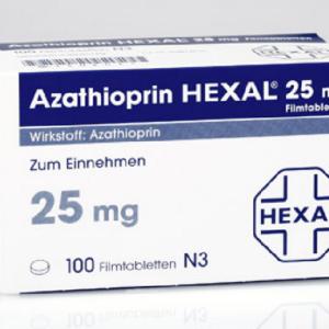 Азатиоприн 25 мг