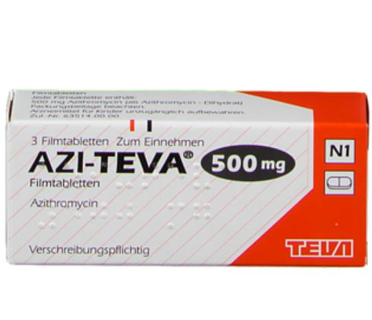 Azi teva 500 mg купить