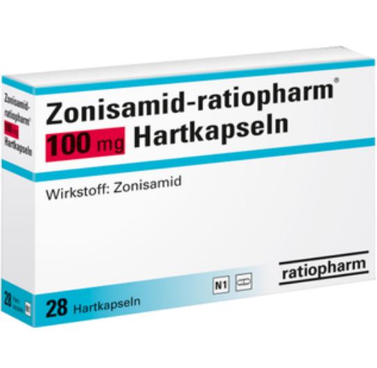 Зонисамид 100 мг 1